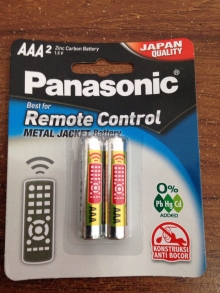 Batere Panasonic AAA, Zinc Carbon Battery