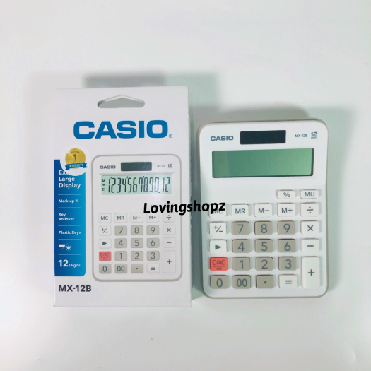 Kalkulator casio MX-12B