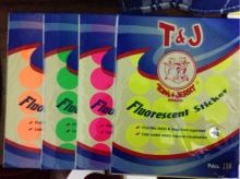Label Tom & Jerry No.118 Fluorescent, Label Tom and Jerry No.118 Fluorescent