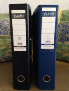 Ordner/Binder Bantex 70 mm